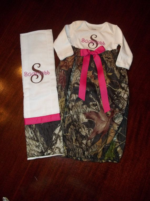 camo baby gown by sewsweetts on etsy 2500 baby stuff