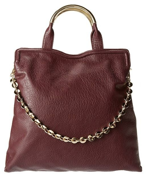 Ivanka Trump Grace Top Handle Pebble Satchel (Wine) - Bags and Luggage on  shopstyle.com fb096339af