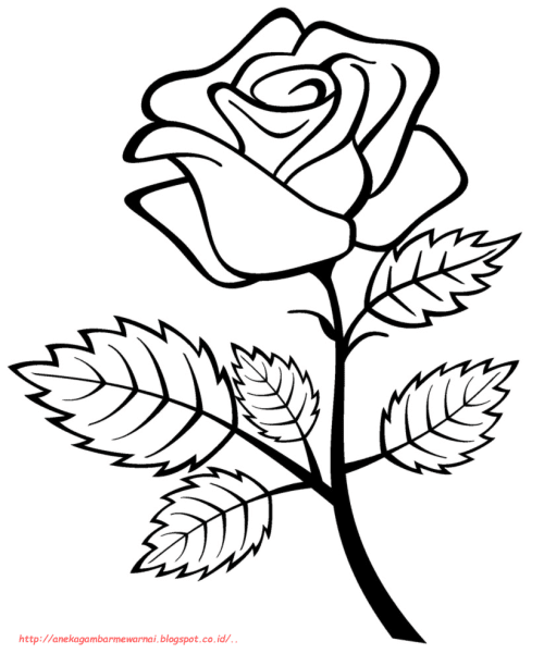 Contoh Sketsa Batik Bunga Simple Tulisanviral Info Cute766
