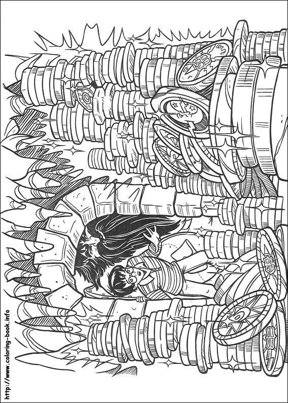 Harry Potter coloring picture | Toy Theatres: 1 of 4 | Pinterest ...