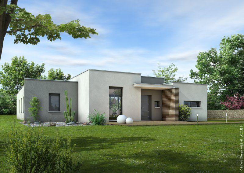 Constructeur littoral habitat maison pereire gironde for Constructeur maison bois contemporaine