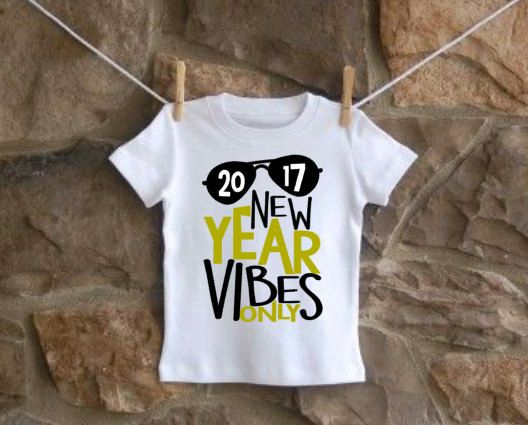cae97865d2d7 New Year Vibes Only 2017 shirt or onesie https   www.etsy.