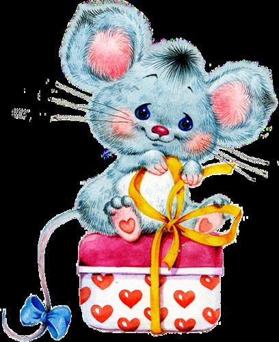 Открытки мышами