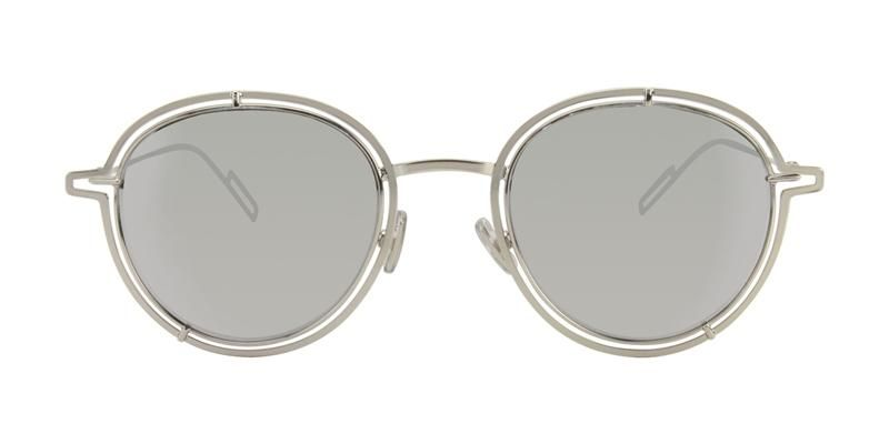 959befe3a2 Dior Homme 0210S Silver   Silver Lens Mirror Sunglasses