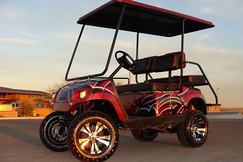 AWESOME YAMAHA 4 SEAT LIFTED SHOW GOLF CART, 48v ELECTRIC, NEW ... on ez go golf carts chargers, ez golf cart batteries, ez go powerwise battery charger, 36 volt battery, forklift battery, trojan t-105 6v battery, ez go bike battery, ez go panama city,
