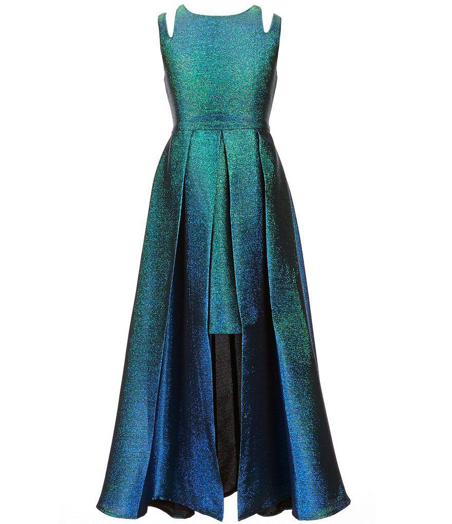 Tween Diva Big Girls 7-16 Metallic Brocade Dress | FALL 2018 ...