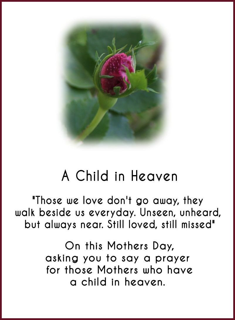 A Child in Heaven... Can be changed to Father's Day as ...