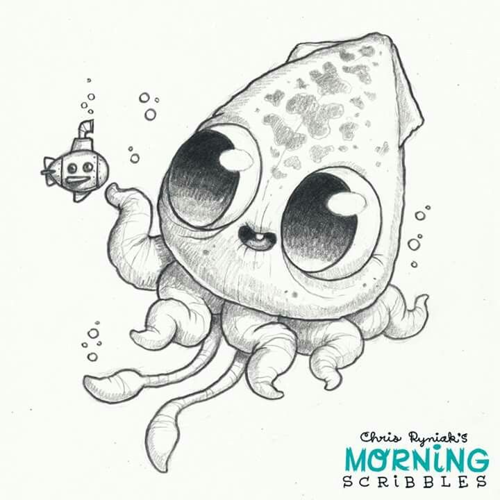 Scribble Monster Drawing : Pin by patricia cdebaca on morning scribbles pinterest