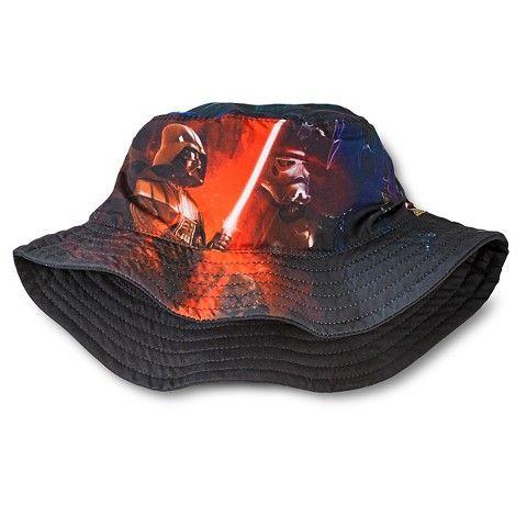 6c58de6a1c3 Star Wars Boys  Bucket Hat-Black Target