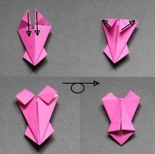 Phantastica Ciudad: origami corsé