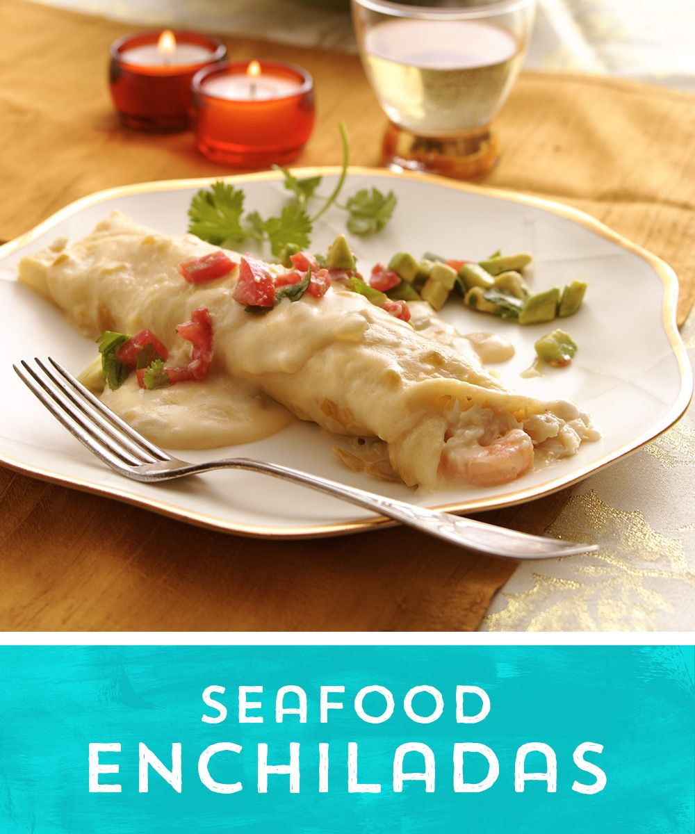 Seafood Enchiladas Recipe from Old El Paso Seafood