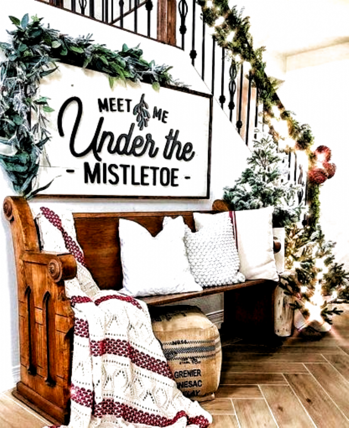 2019 Christmas Decoration Ideas For The Home; Indoor & Outdoor - VCDiy Decor And More #Outdoor