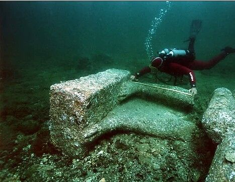 Underwater archeology for the coast of Alexandria