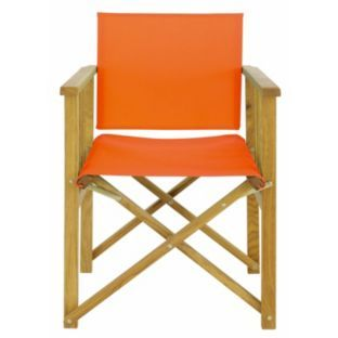 Habitat Africa Folding Chair Sling Red At Argos Co Uk Your Online For Garden Chairs And Loungers