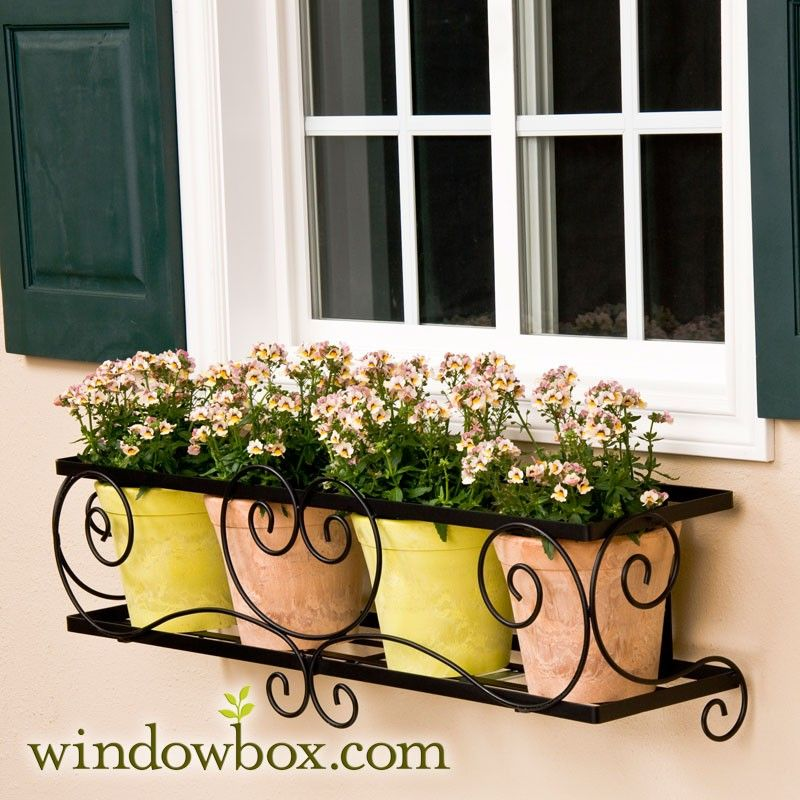 The Enchanted Garden Window Box Cage (Square Design