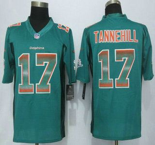 c1dedc4ec Nike Dolphins Ryan Tannehill Aqua Green Team Color Men s Stitched NFL  Limited Strobe Jersey And Lamar Miller jersey