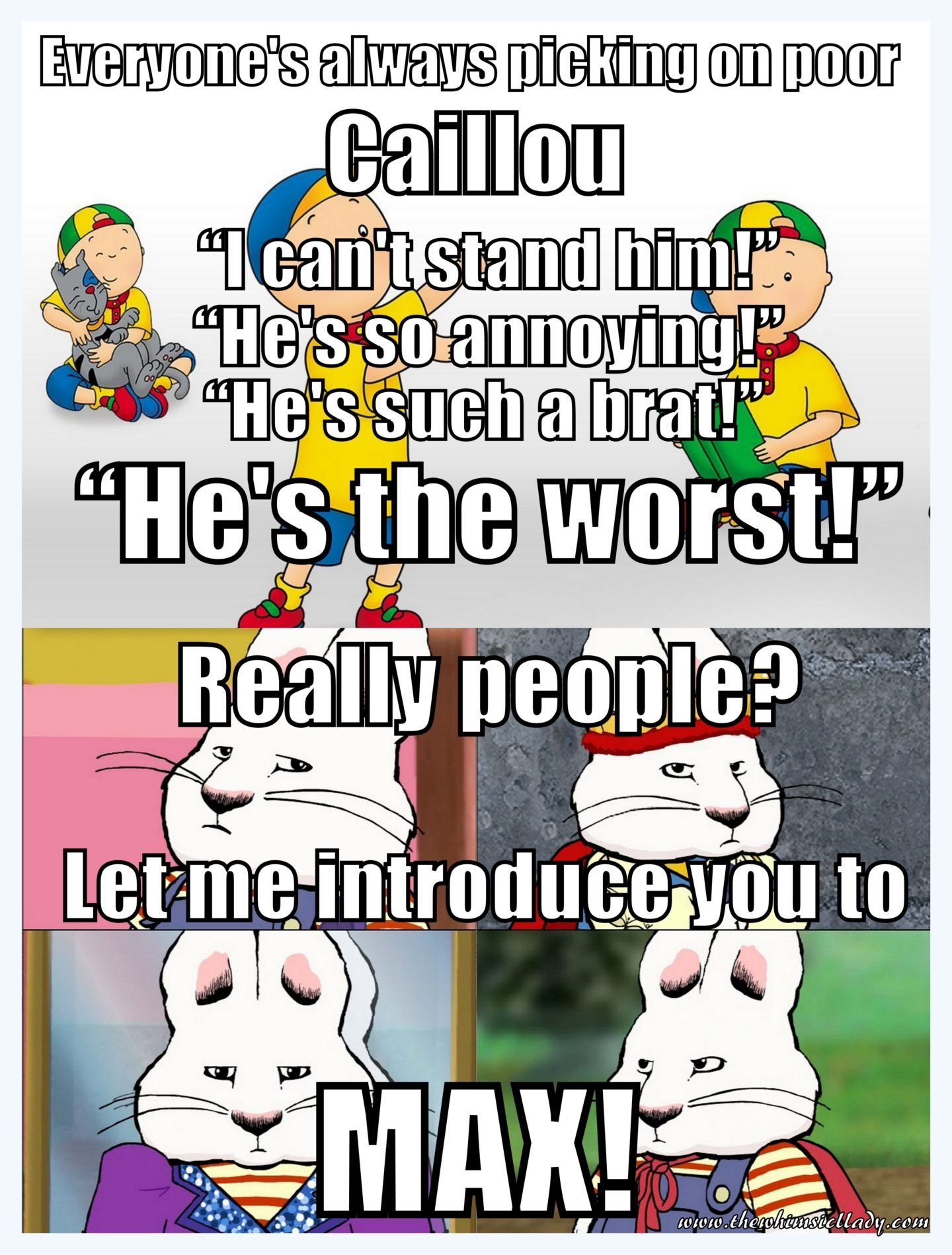 Funny Caillou Meme My Warped Sense Of Humor Really