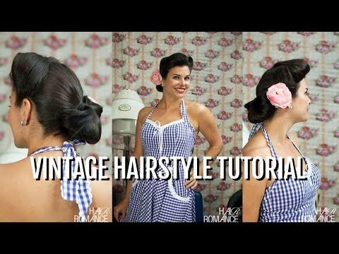 How to finish your vintage hairstyle with the fabulous Miss Pixie | Hair Romance