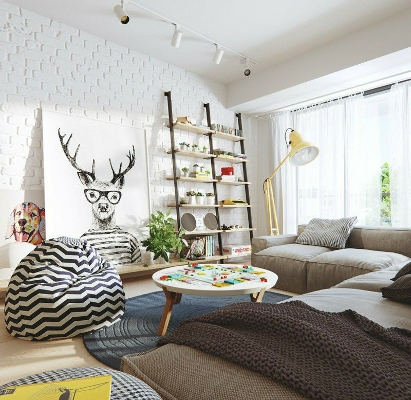 Skandinavisch Wohnen 50 Schicke Ideen Skandinavisch Wohnen Wohnzimmer