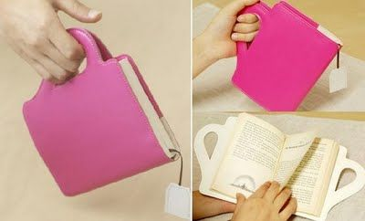 BookCup: This book cover is shaped like a teacup and comes with a page marker that looks like a tea bag.