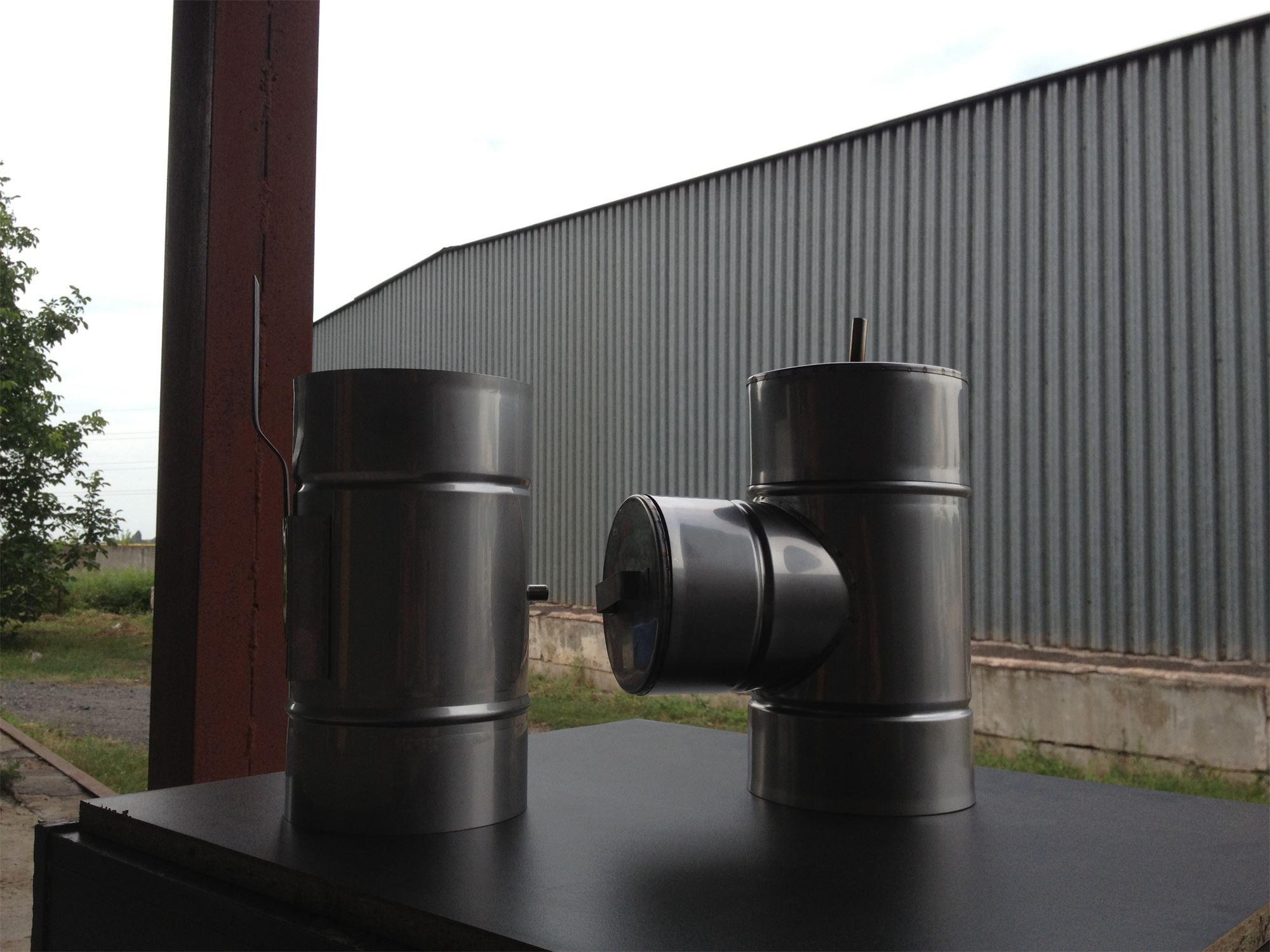 Низколегированный дымоход ершик для дымохода