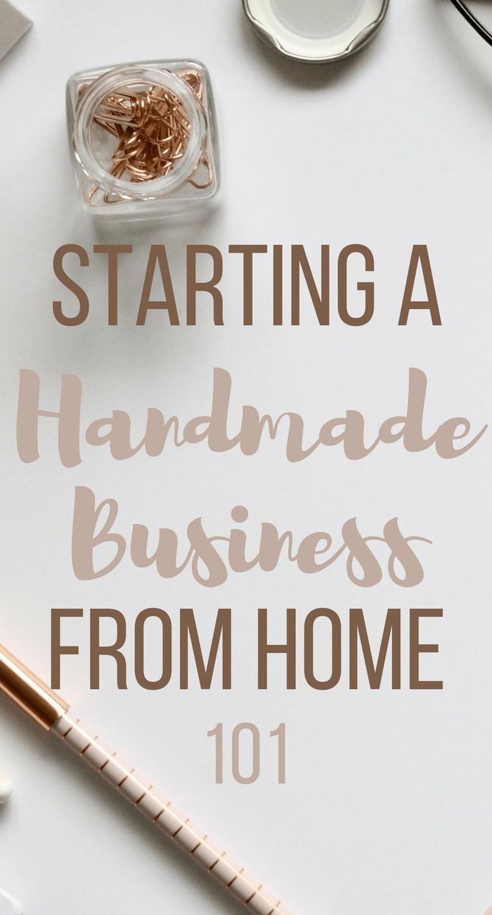 Starting A Handmade Business From Home - PreciousLittleStars | Top ...