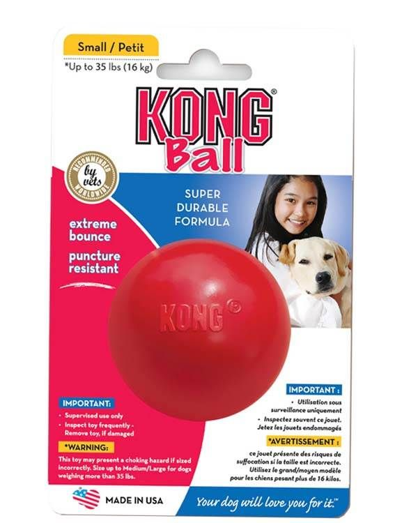 Kong Rubber Ball Dog Toy Small Dog Toy Ball Dog Ball Best Dog Toys