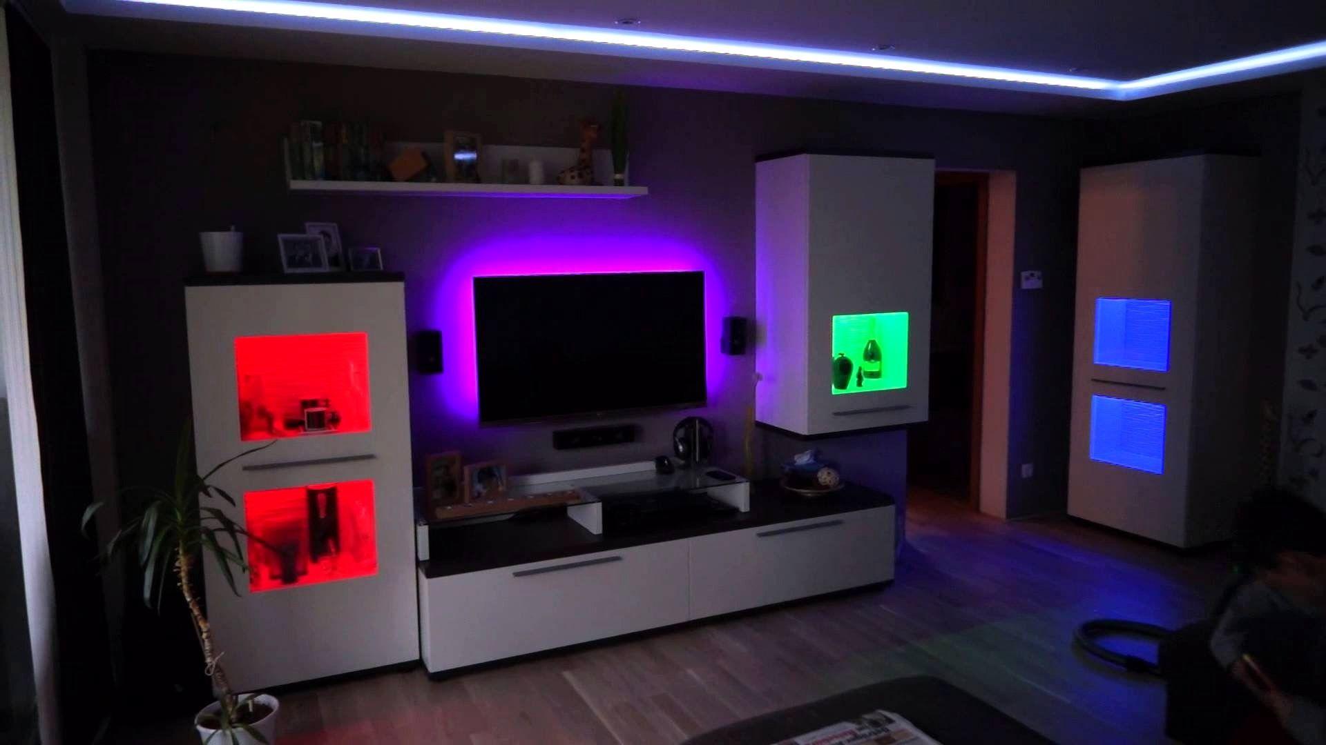 9 Frisch Led Band Deko Ideen  Led beleuchtung wohnzimmer