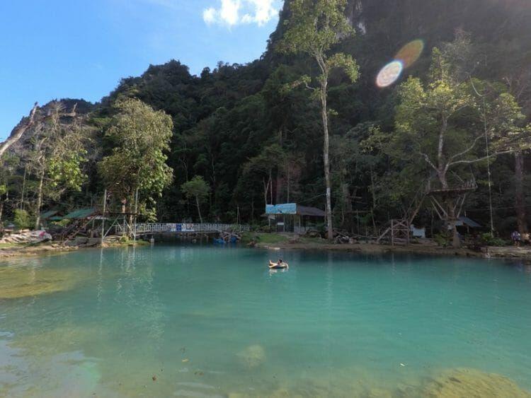 Visiting Vang Vieng In Laos Should You Go To Blue Lagoon 1 2 Or 3 Blue Lagoon Lagoon Laos