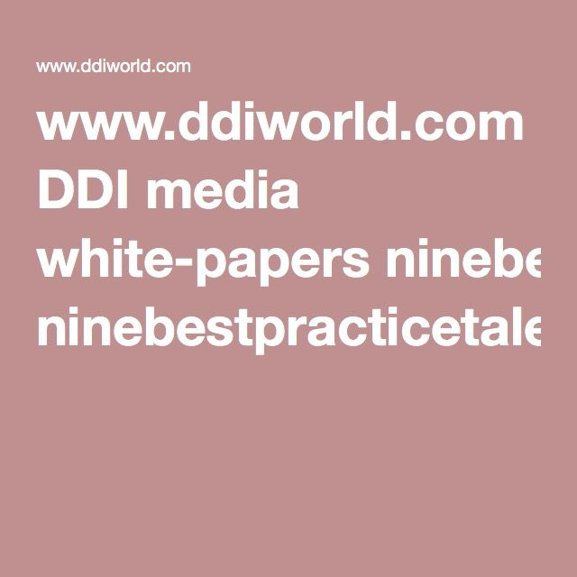 WwwDdiworldCom Ddi Media WhitePapers