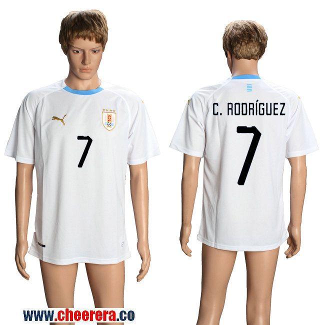 f94531fa8e9 ... store colombia 4 ramirez away women 2018 fifa world cup soccer jersey  uruguay 7 c.