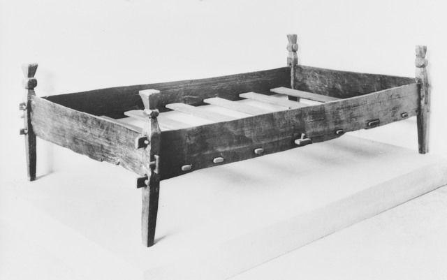 Fotoportalen Unimus Medieval Furniture Medieval Bed Norwegian
