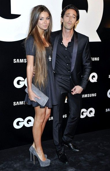 Adrien Brody and Lara Lieto - Adrien Brody at The GQ Man of the Year Awards