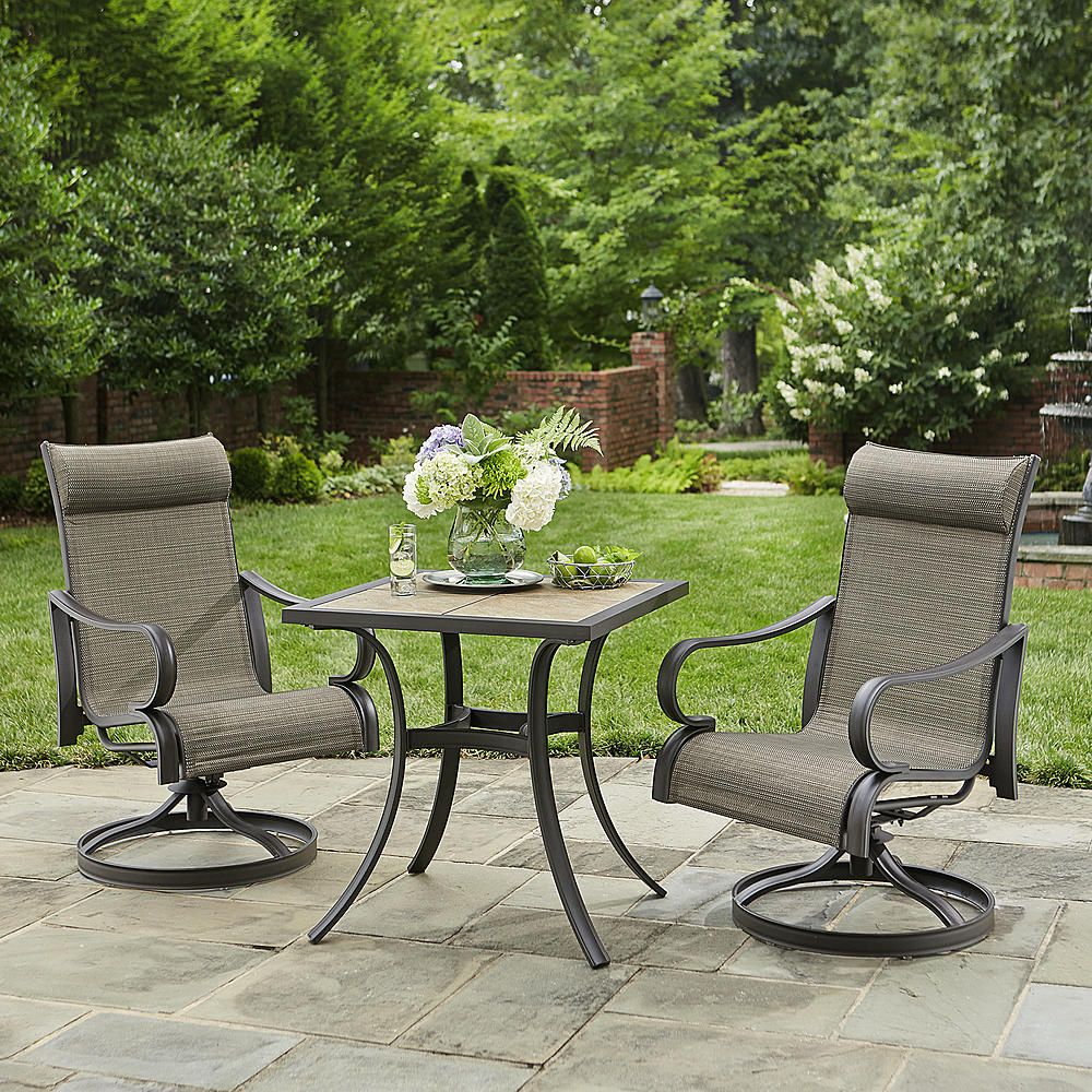 Jaclyn Smith Patio Furniture.Jaclyn Smith Marion 3pc Bistro Set Outdoor Living Patio