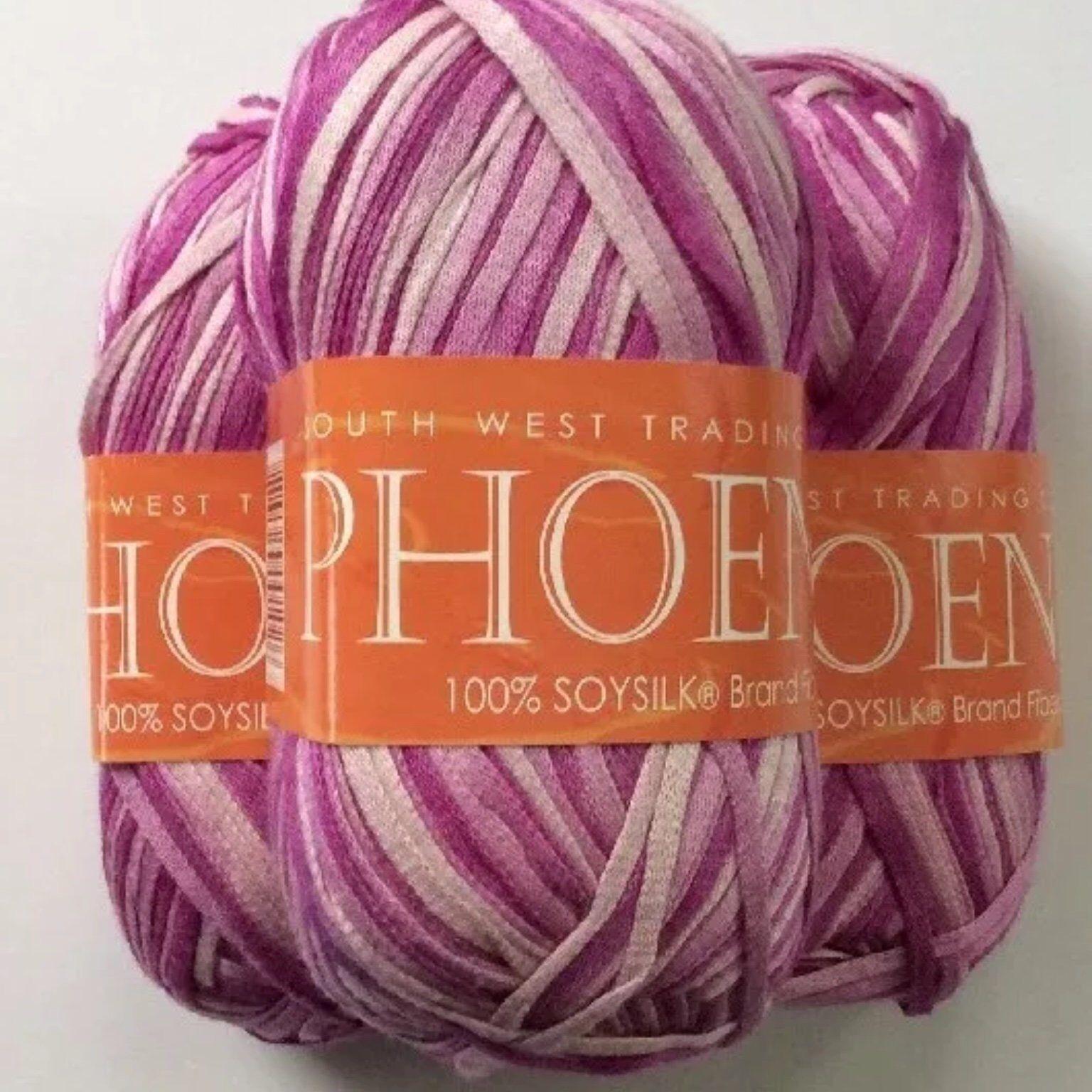Phoenix South West Trading Yarn Ribbon Tape Pink Ballet 102 Lot Of