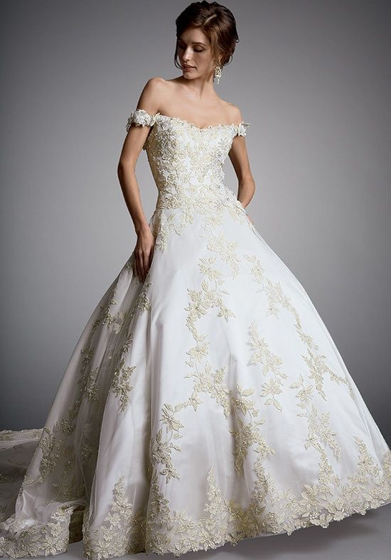 AMALIA CARRARA BY EVE OF MILADY 327 Wedding Dress - The Knot | Marry ...