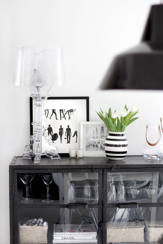 Urbnite Bourgie Table Lamp By Philippe Starck For Kartell Bedroom