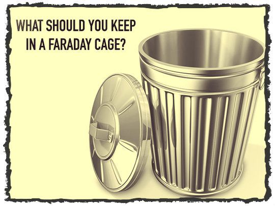 First, a quick reminder of what a Faraday cage is, and how
