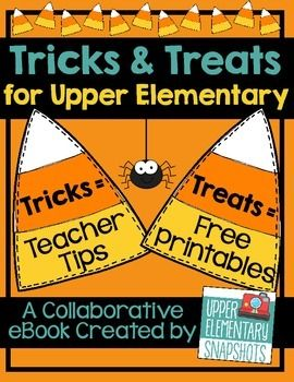 Tricks and treats ebook for upper elementary free halloween this free ebook is loaded with creative tips tricks for the teacher and fun product freebies treats for your students the ebook is brought to you by fandeluxe Ebook collections