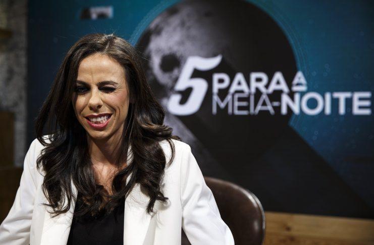 Filomena Cautela Eurovision Host Has Her Own Talk Show Every Thursday 5 Para A Meia Noite Www V Ht Ishop Meias Noites Filomena