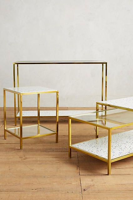 framed terrazzo coffee tables furniture pinterest. Black Bedroom Furniture Sets. Home Design Ideas