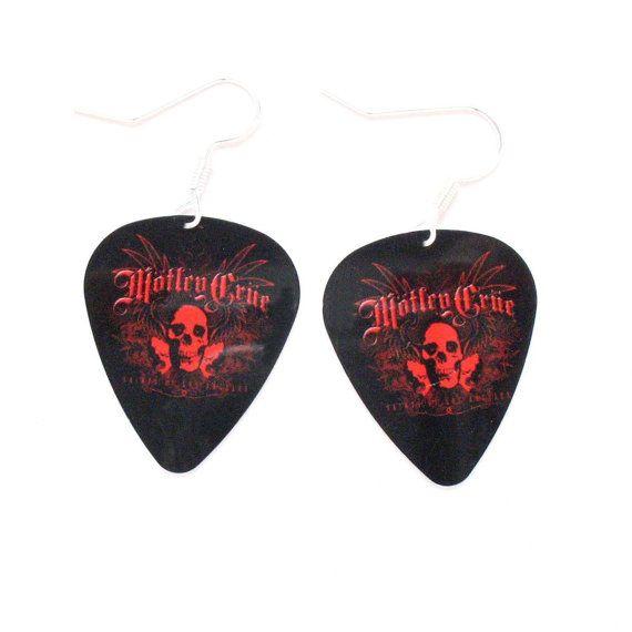 Guns N Roses Tie Bar Clip Black Guitar Pick Skull Axl Slash Dizzy Steel Music Rock Musician Teacher Band Suit Accessories Concert