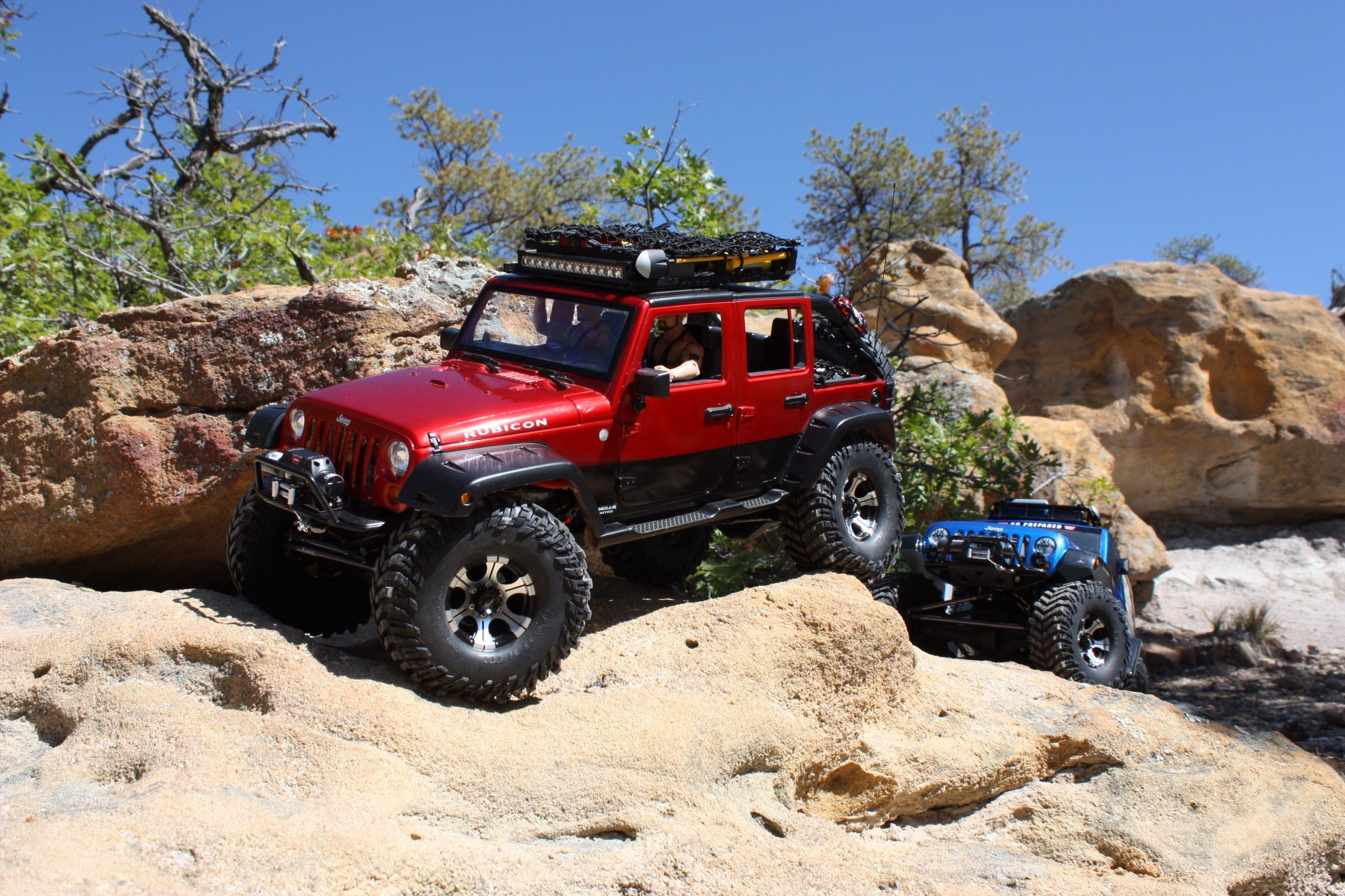 My Axial SCX10 Jeep Wrangler Unlimited Rubicon. This was built from ...