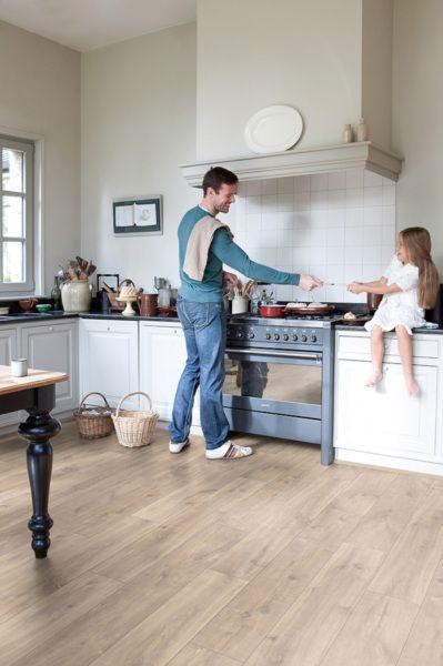 Sol Stratifié Classic Unilin Flooring - Quick Step Tanguy