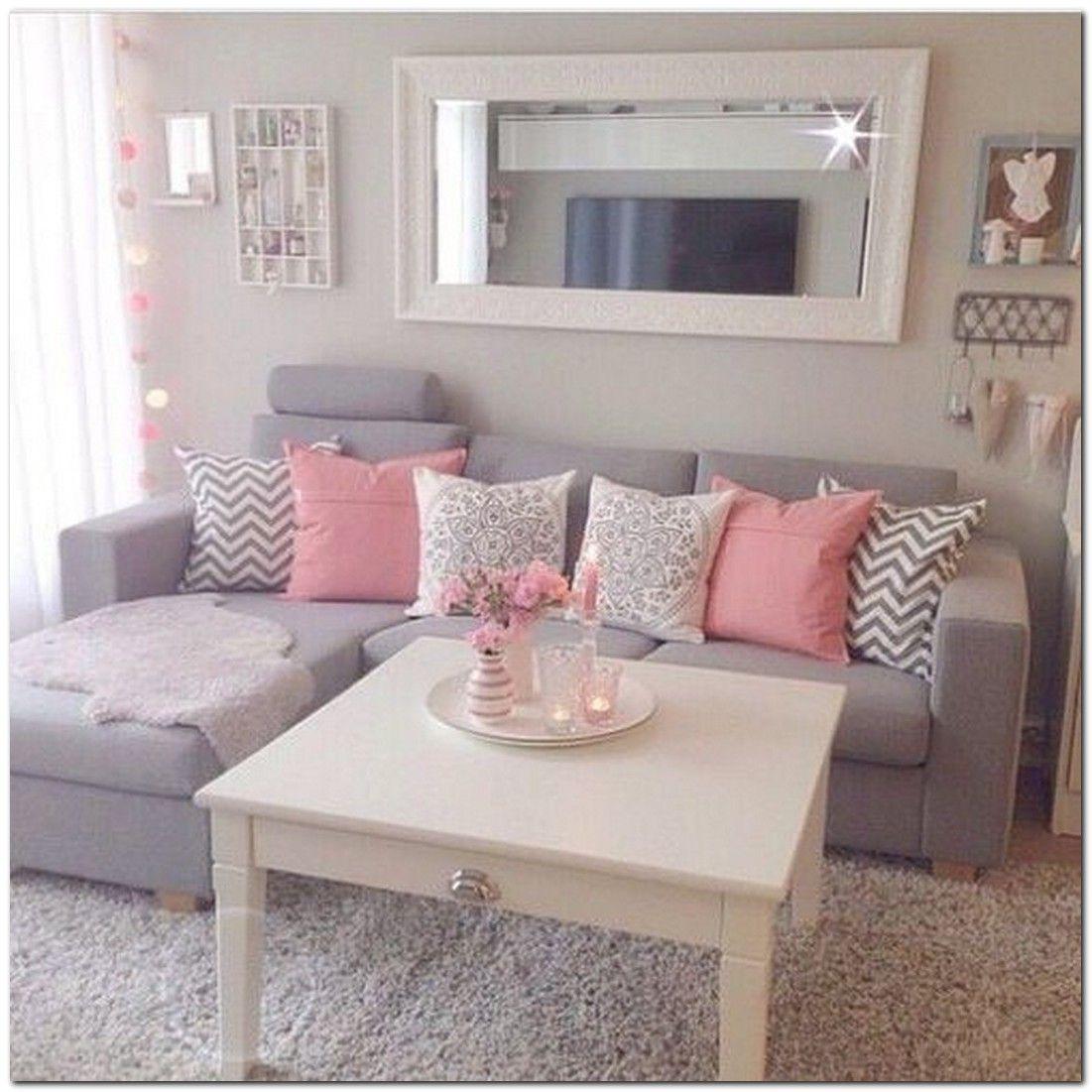 How to Decorating Small Apartment Ideas on Budget | Wohnzimmer und Neuer