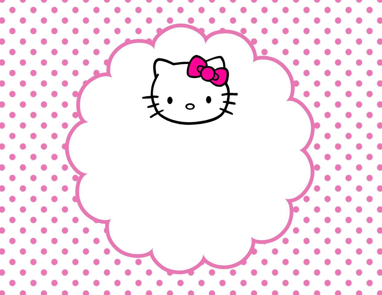 picture relating to Kitty Printable titled Hello there kitty printable Bash - Good day Kitty Hi there kitty