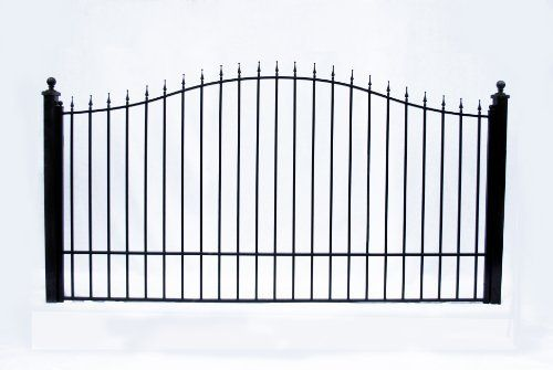 Basic Wrought Iron Driveway Gates Munic Style Iron Wrought Gate