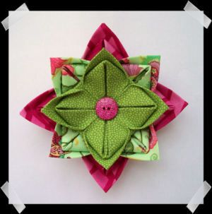 Download How To Make A Lotus Flower Pin Sewing Pattern