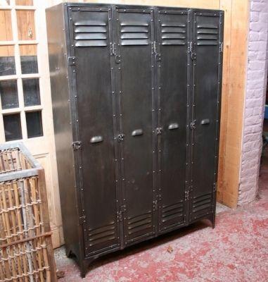 casier vestiaire industriel - Recherche Google   Indus style ...