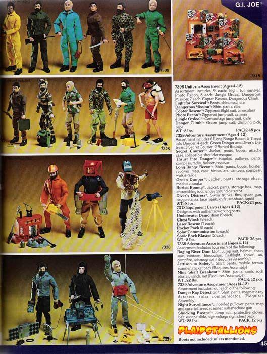 Joe Team Catalog Gi Adventure